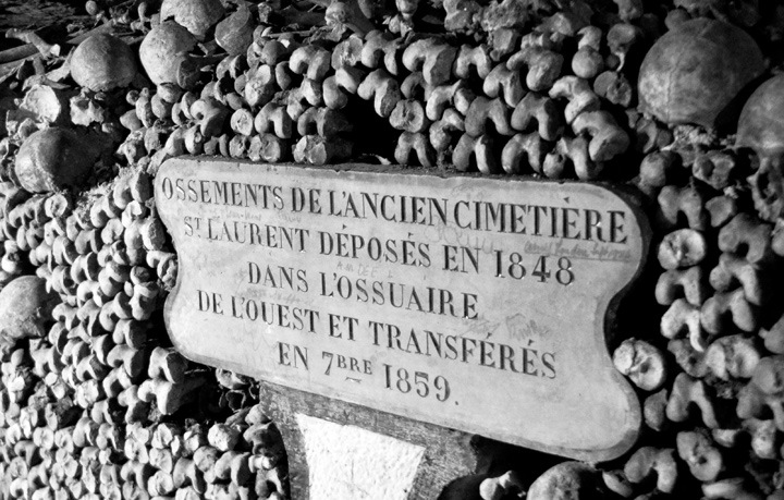Catacombs sign