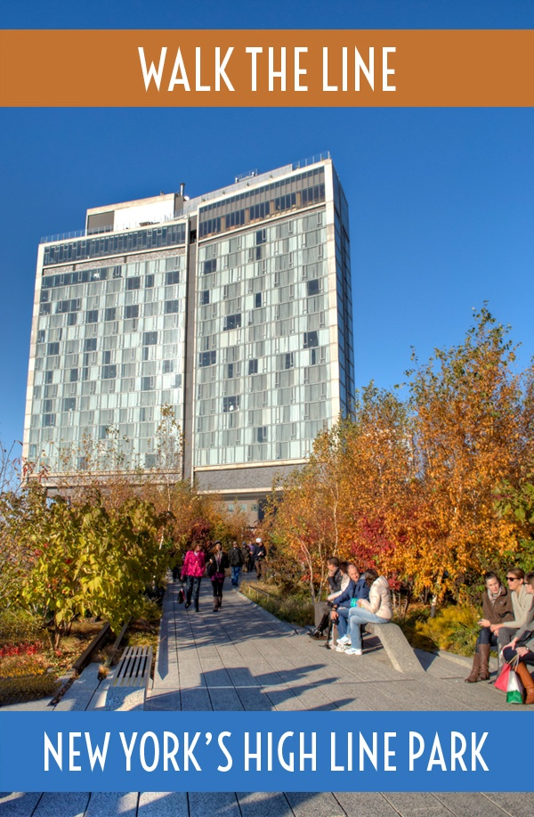 Walk the line: New York's elevated High Line park