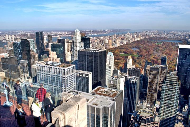 Views from the Rockefeller Center