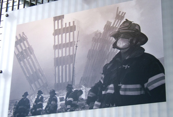 9/11 firefighters photo