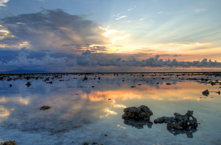 Gili Trawangan beach sunset