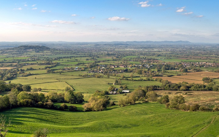 Views across the Cotswolds