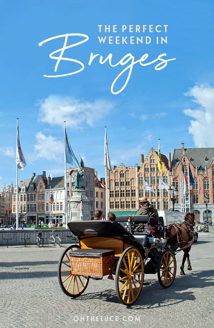 How to spend the perfect weekend in Bruges: A 48-hour itinerary of canals, historic buildings, beer and chocolate #Bruges #Belgium #weekend