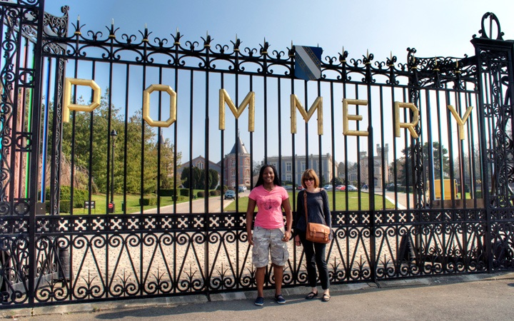 Pommery Champagne house