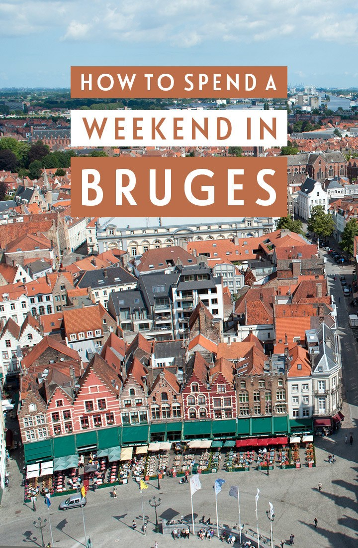 The perfect weekend in Bruges, Belgium: A 48-hour Bruges city break itinerary featuring canals, historic buildings, beer and chocolate #Bruges #Belgium #weekend