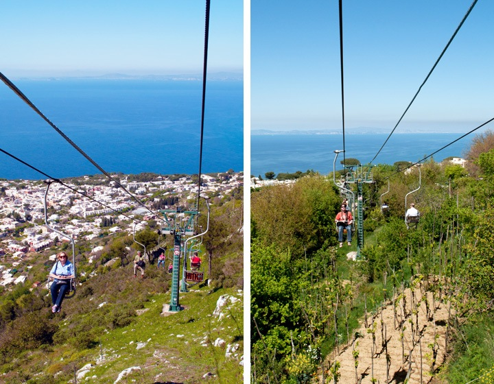 Chairlifts to Monte Solaro