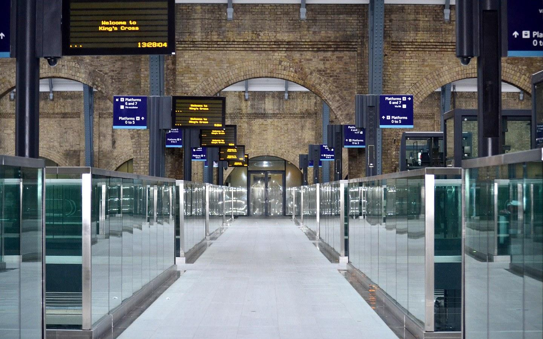 King's Cross Train station in London