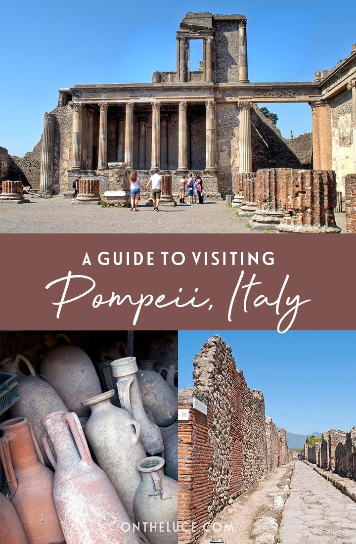 Visiting the archaeological site of Pompeii in Southern Italy – everything you need to know to plan your visit, from the site's history and what to see to how to get there and whether you need a guide   Visiting Pompeii Italy   Pompeii archaeological site   Pompeii travel guide