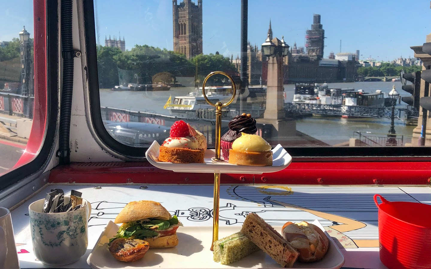 The Afternoon Tea Bus London food tour