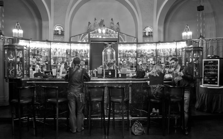 Muncipal House's American Bar