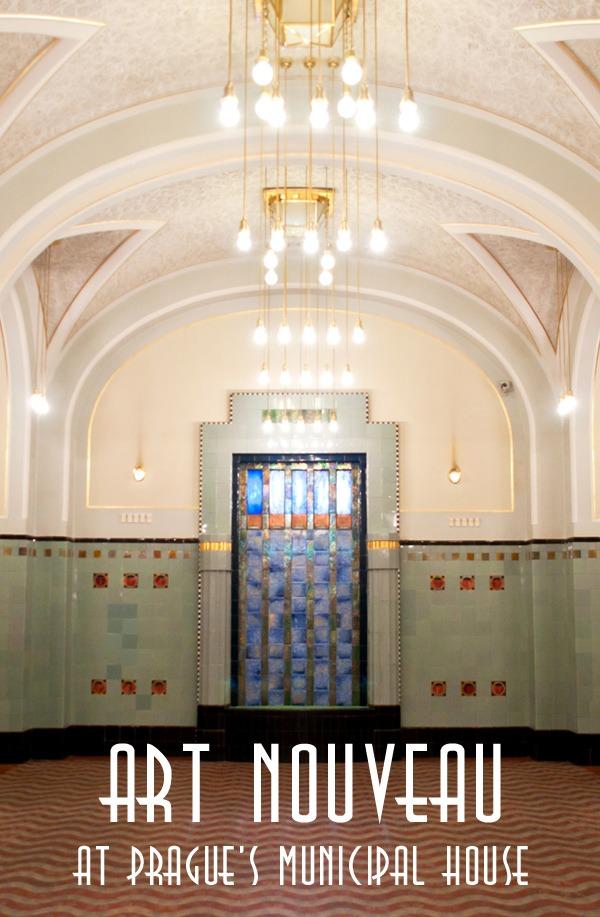 The Art Nouveau splendour of Prague's Municipal House – On the Luce travel blog