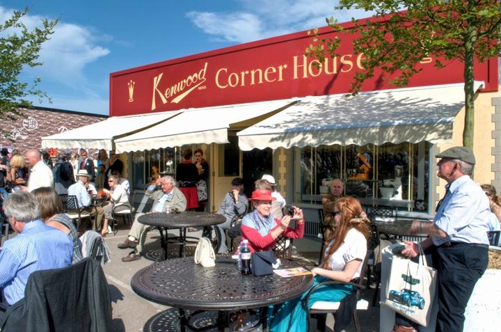 Kenwood Corner House café at Goodwood Revival