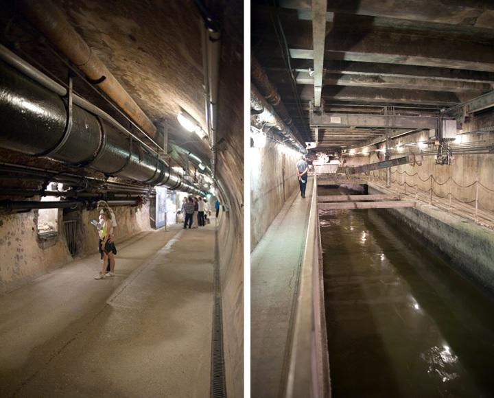 Underground Paris sewer tour