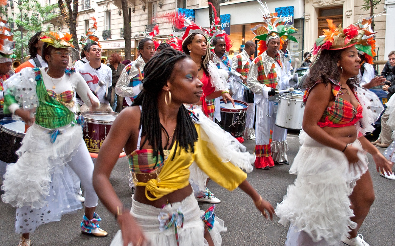 The Fête des Vendanges harvest festival in Montmartre Paris