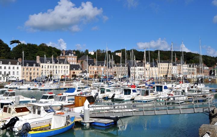 St Valery-en-Caux harbour