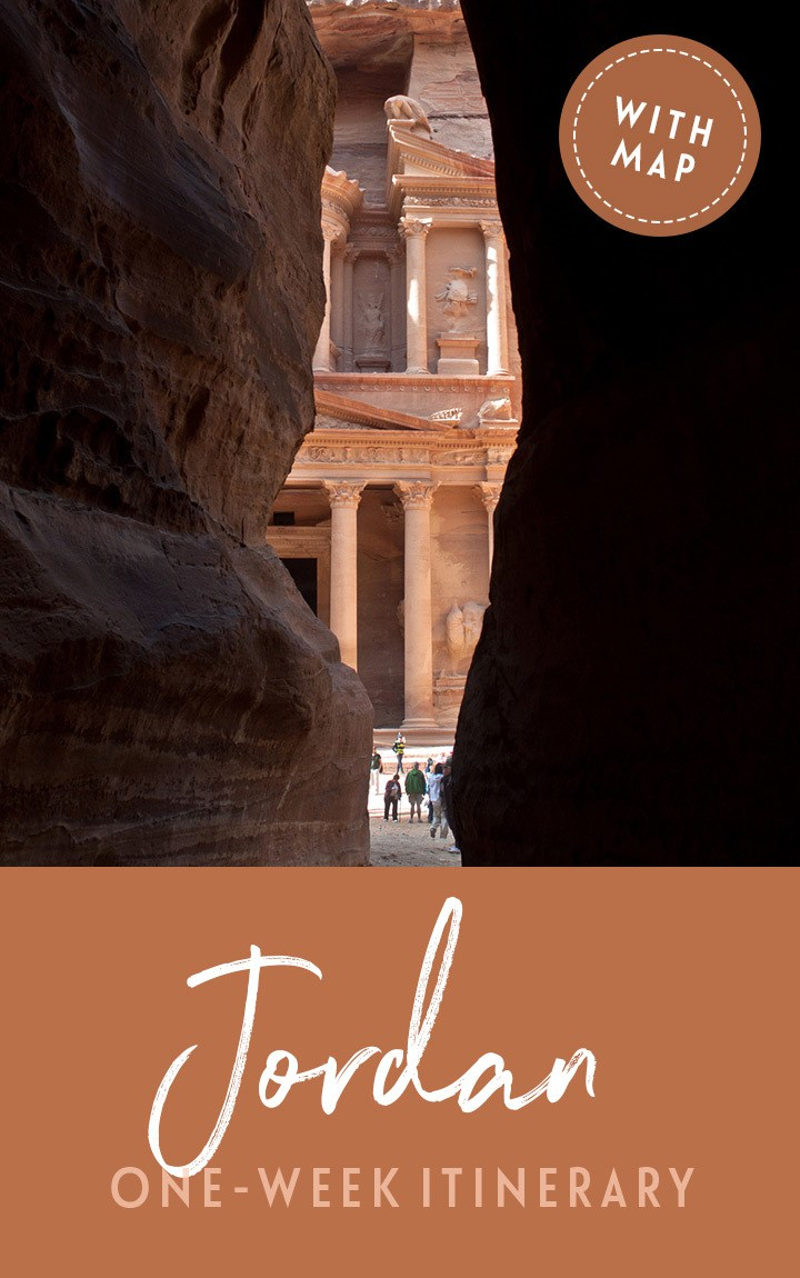 A 7-day Jordan itinerary, including Amman, Petra, Wadi Rum and the Dead Sea, with tips on what to see and where to stay, and map included #Jordan #Jordanitinerary #Petra #roadtrip #itinerary #VisitJordan