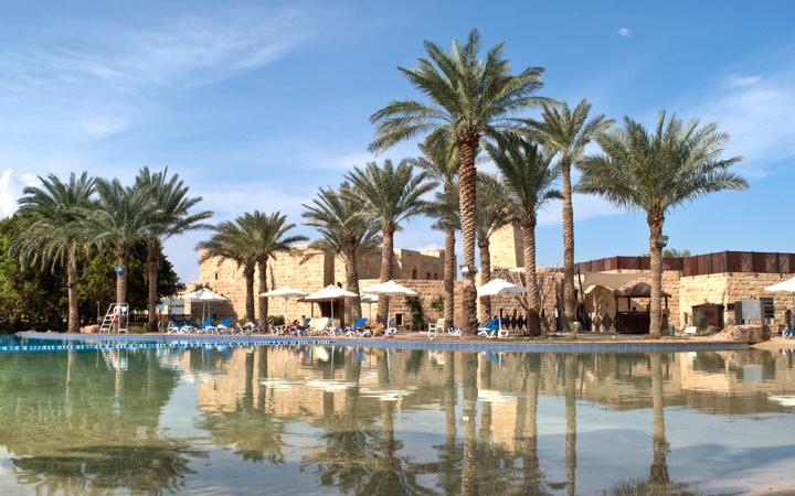 Movenpick hotel on the Dead Sea, Jordan