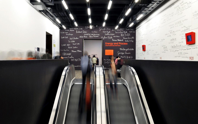 Inside London's Tate Modern gallery