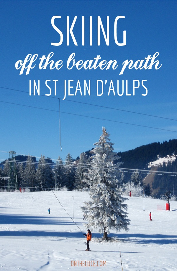 Skiing off the beaten path in St Jean D'Aulps, French Alps – On the Luce travel blog