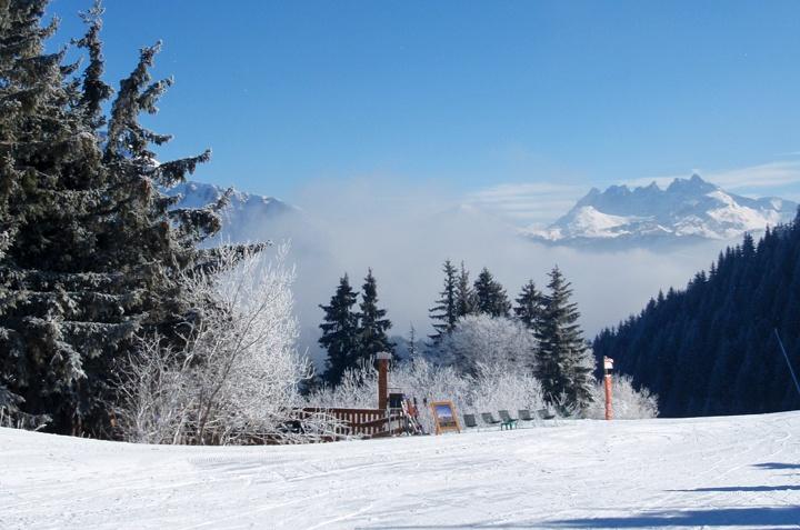 Views of the Dents du Midi from La Grande Terche, French Alps