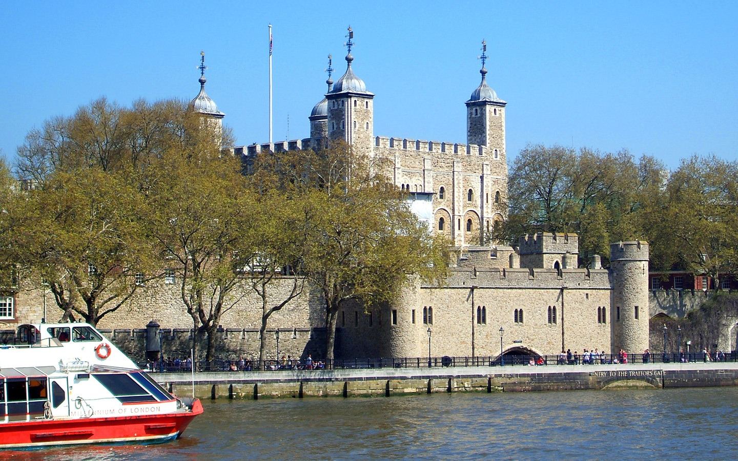 Boat trip on the Thames, London