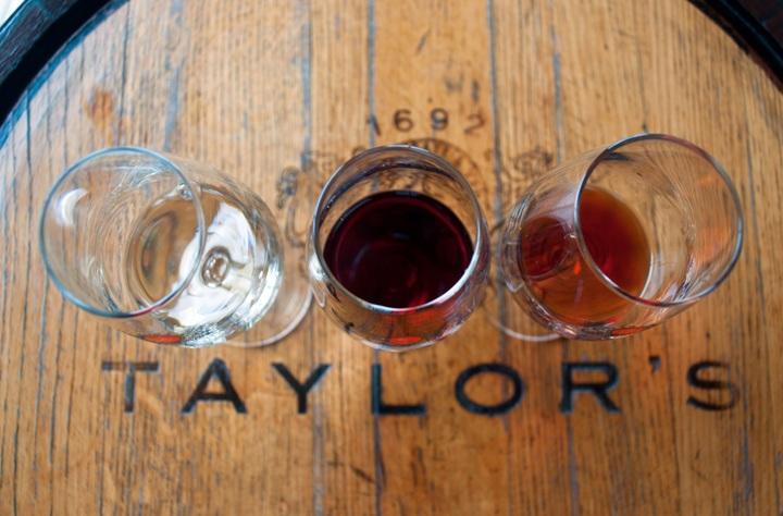 Port tasting at Taylor's in Porto, Portugal