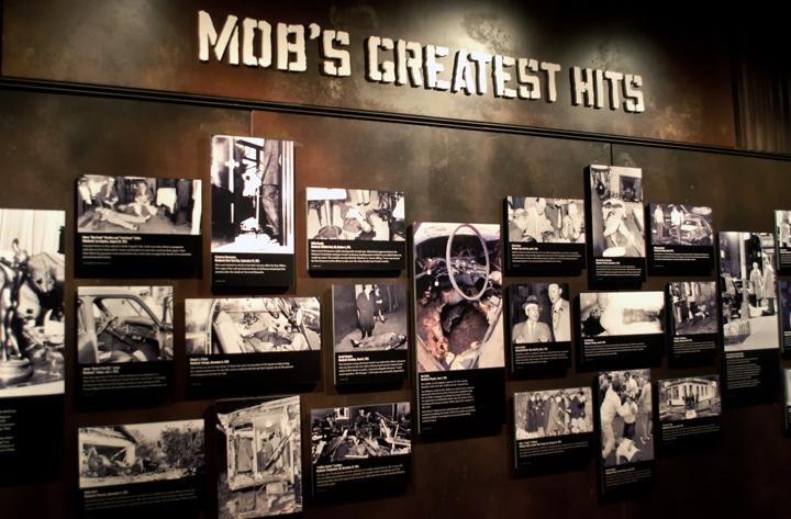 Mob Museum in Las Vegas' Fremont Street