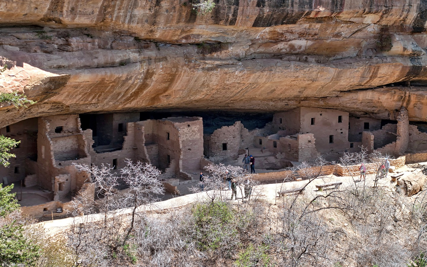Mysteries of the cliff houses at Mesa Verde National Park, Colorado