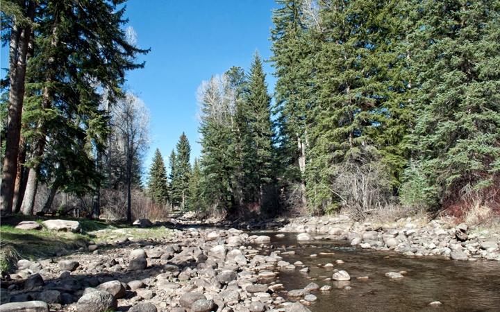 Colorado countryside at O Bar O Cabins