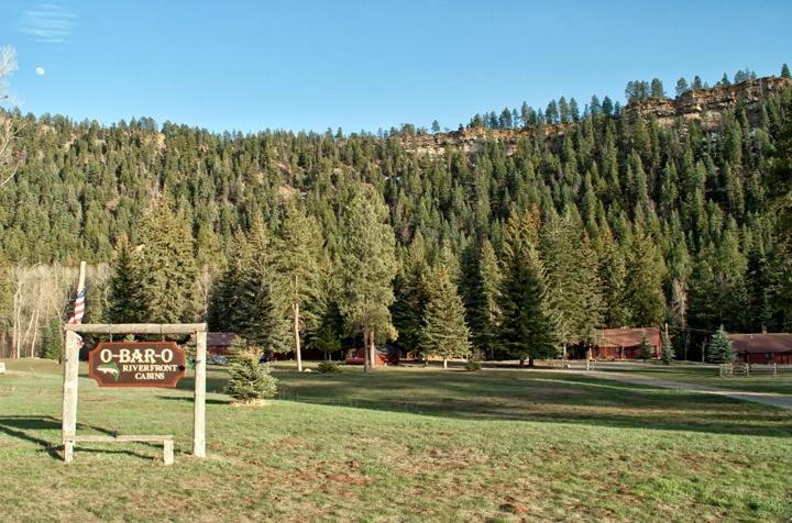O Bar O Cabins near Durango, Colorado