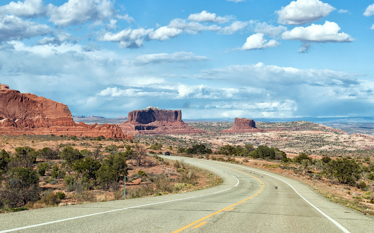 Road trip views in the southwest USA