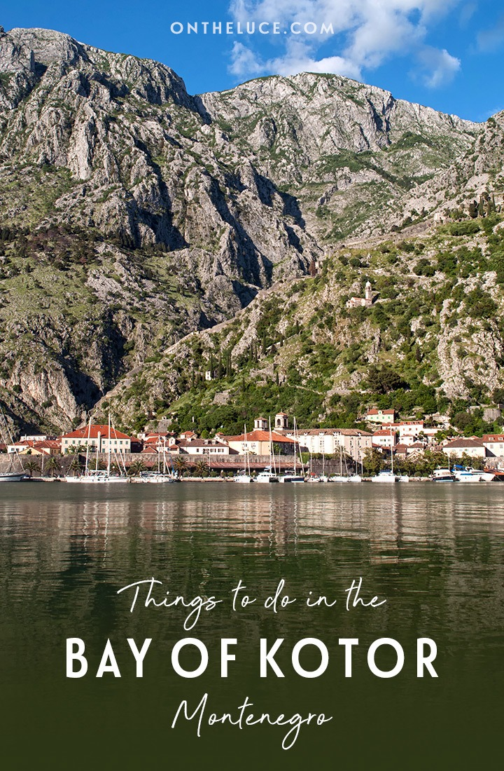 With towering peaks, a rocky coastline and pretty waterside towns, explore the best things to do in the Bay of Kotor – or Boka Kotorska – in Montenego. #Kotor #BayofKotor #Montenegro