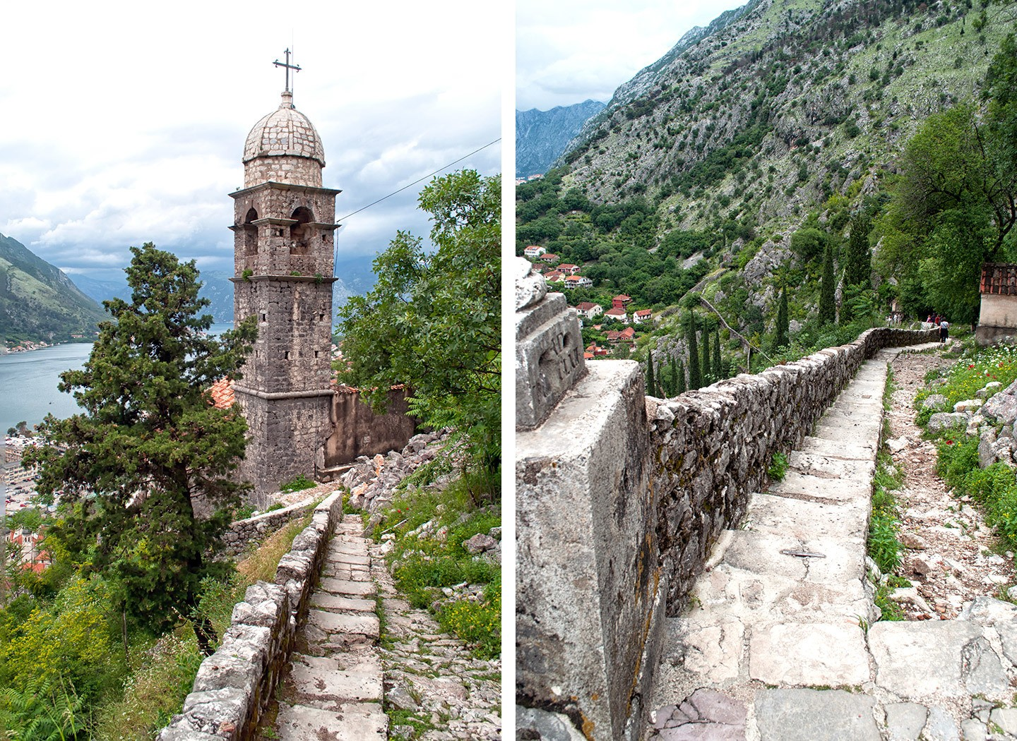 The Church of Our Lady of Remedy in Kotor