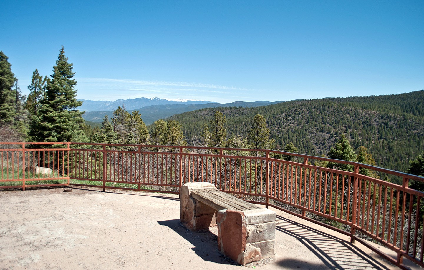 The High Road to Taos scenic drive, New Mexico