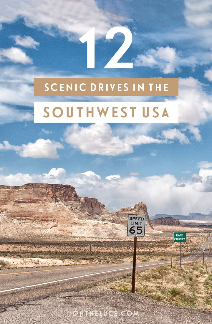 12 of the best southwest USA scenic drives through National Park, snow-capped mountains, red rocks and sandy deserts – a guide to southwest scenic routes in Arizona, Utah, New Mexico, California and Colorado, to help plan your perfect US road trip | US road trip | Southwest USA scenic drives | Southwest USA road trip | Sputhwest driving routes