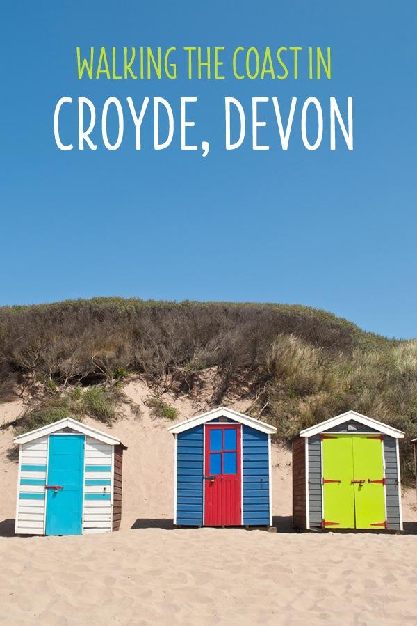 Walking the coast in Croyde, Devon – On the Luce