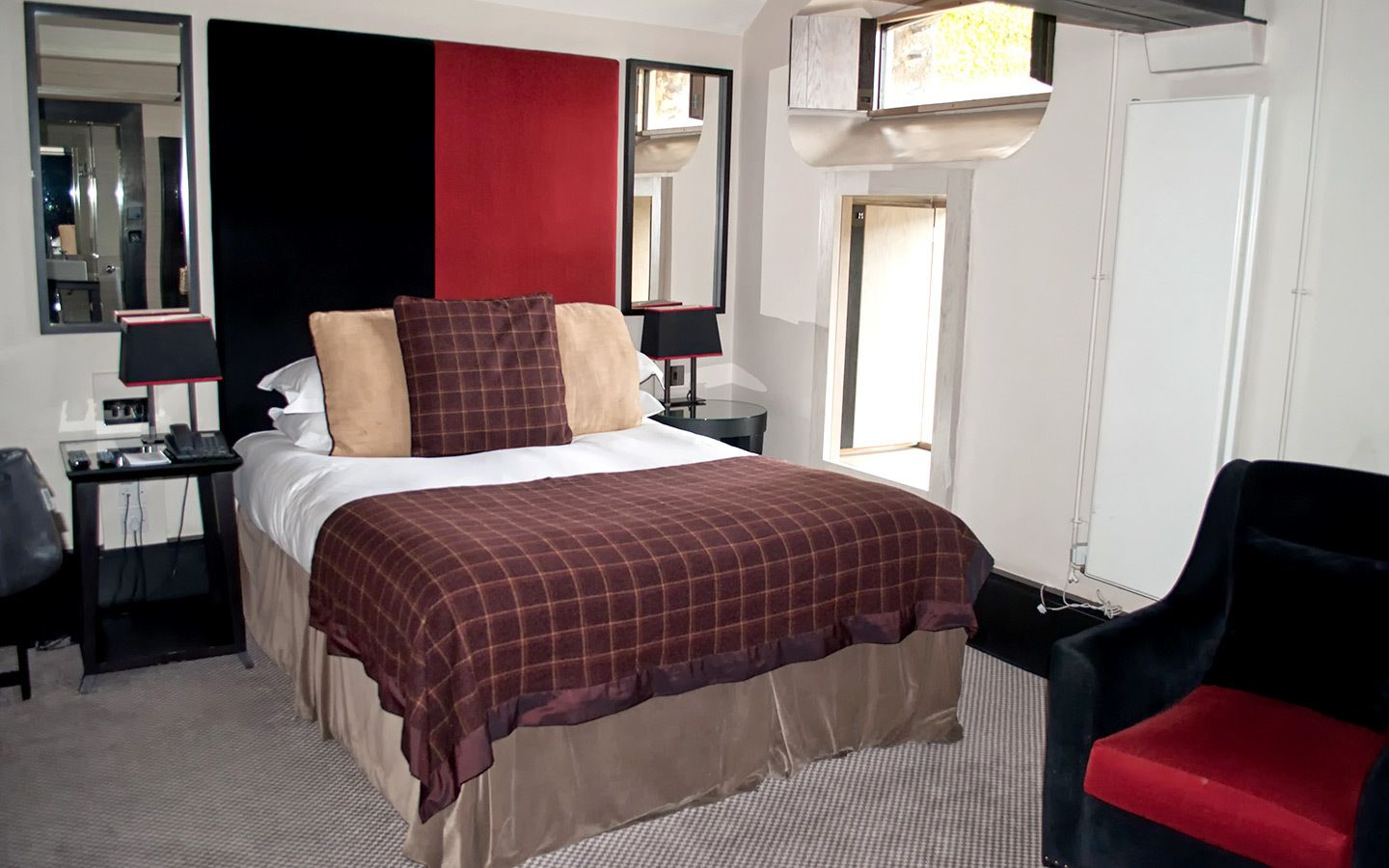 Former prison cell rooms at the Malmaison Oxford hotel