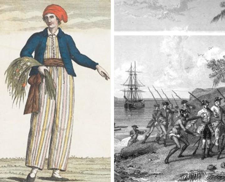 Jeanne Barre - first woman to circumnavigate the globe