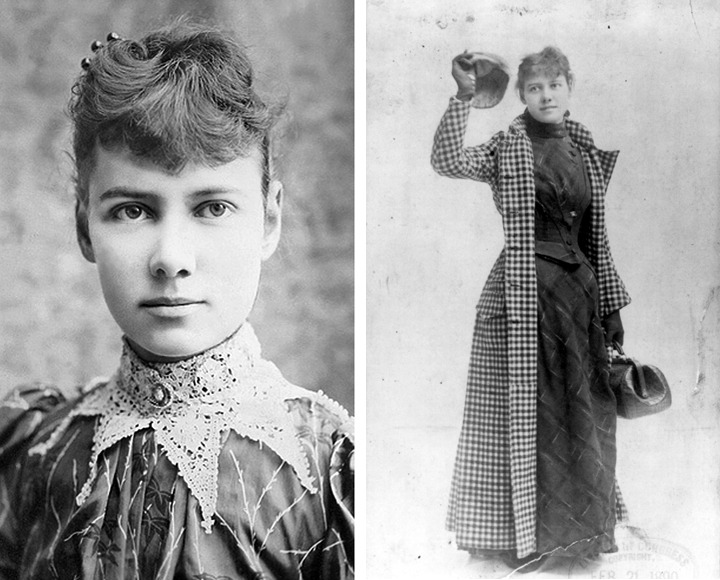 Nelly Bly – Around the World in 72 Days