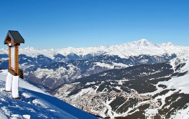 The Meribel Valley, French Alps