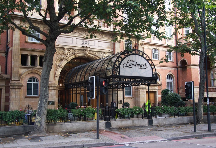 The Landmark Hotel in Marylebone, London
