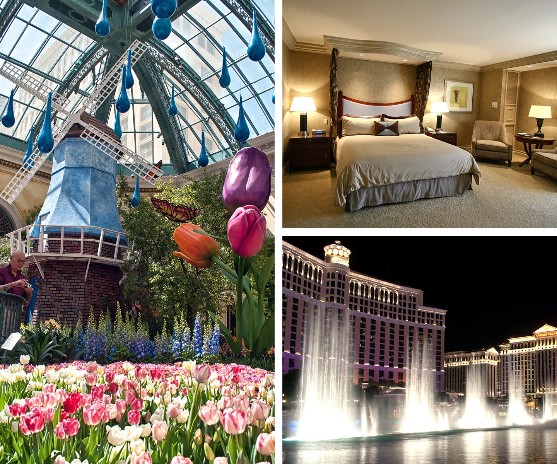 The Bellagio hotel and casino on the Las Vegas Strip