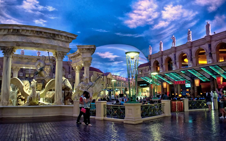 Caesar's Palace hotel on the Las Vegas Strip