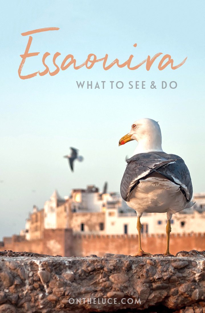 The best things to see and do in Essaouira on the coast of Morocco – from shopping the souks and seaside sunsets to Moroccan cookery classes and Gnawa music festivals. #Morocco #Essaouira