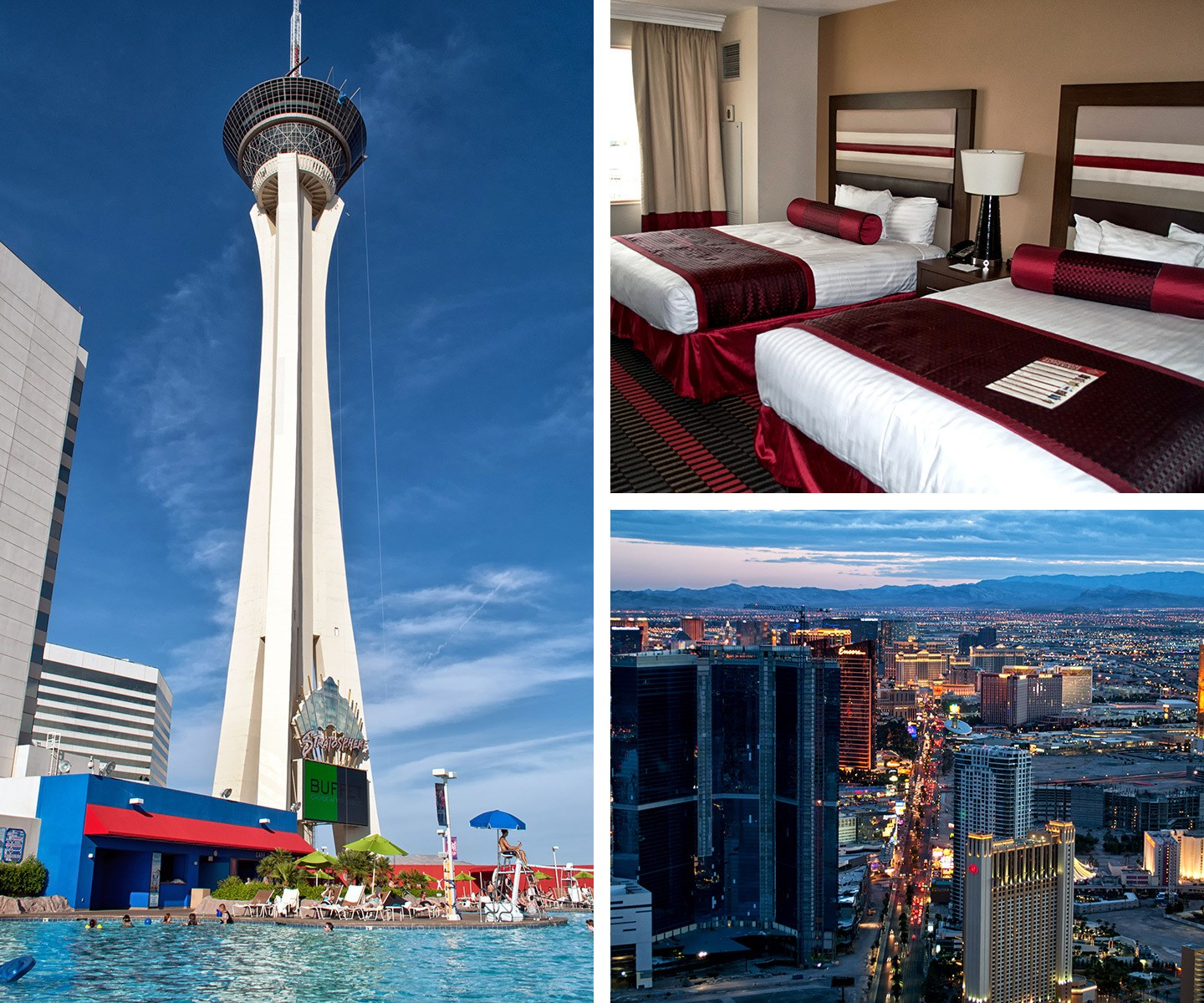 The Stratosphere hotel and casino on the Las Vegas Strip