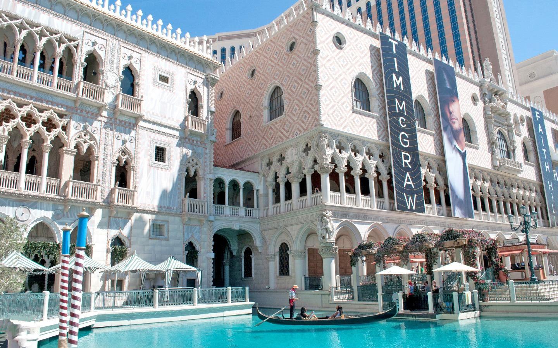 The Venetian casino, Las Vegas, Nevada USA