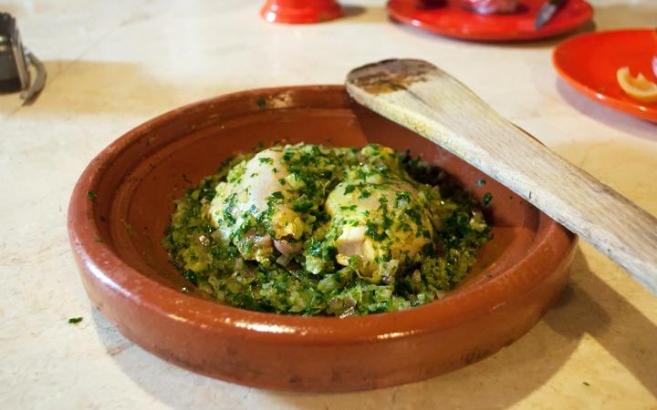 Cooking class at L'Atelier Madada in Essaouira