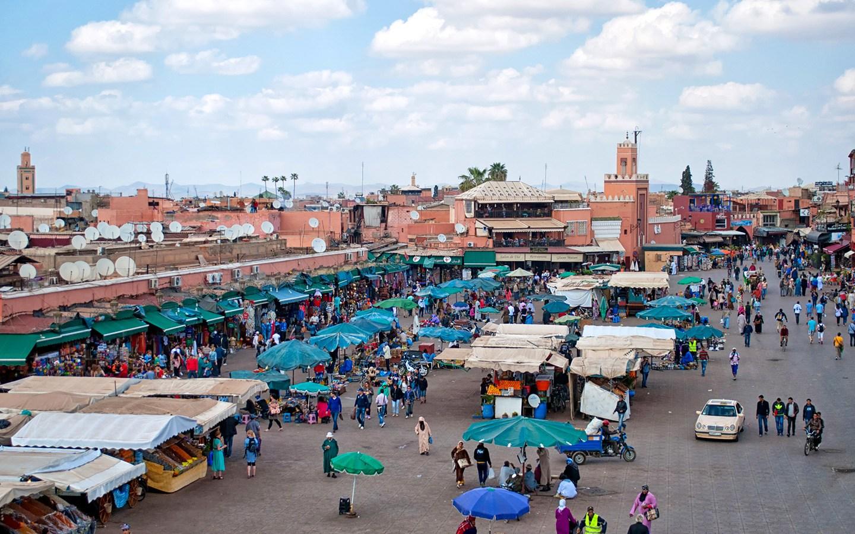 The Djemma el-Fna, Marrakech's main square