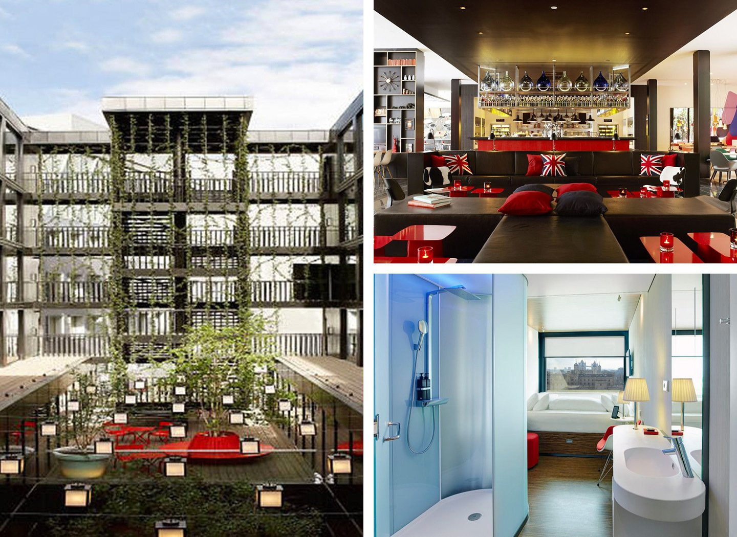 Citizen M affordable hotel chain in London