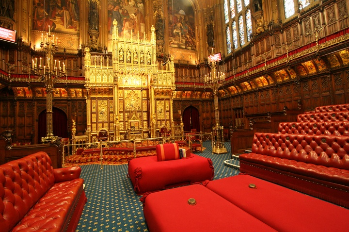 House of Lords, Houses of Parliament, London